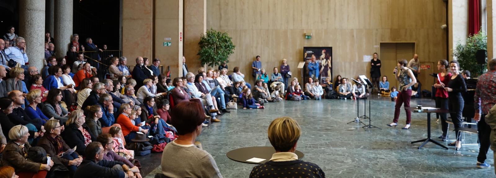 Création avec les étudiants du Conservatoire de Rouen